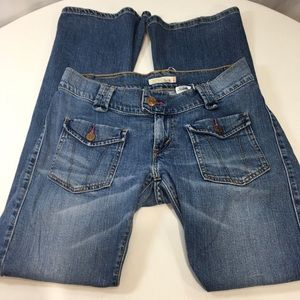 Levi's 504 Slouch Flare RARE Front Flap Pocket 7